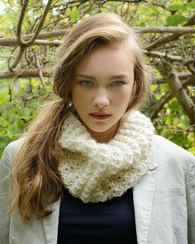 Dilly Lace Stitch Snood